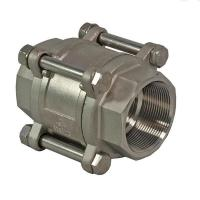 Wholesale 3 Pieces Spring Loaded Check Valve ,1000 WOG Butt Weld Check Valve DN80 from china suppliers