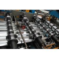 Wholesale Roofing Sheet Roll Forming Machine with Speed 10 - 15m / min for Construction Material from china suppliers