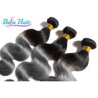 Wholesale High Temperature Ombre Human Hair Extensions Weft No Smell Tangle Free from china suppliers