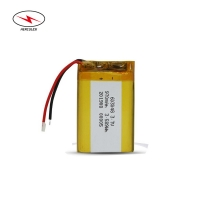 Wholesale HLP603048 3.515Wh 3.7V 950mAh Lipo Pouch Cell 500 Cycle from china suppliers