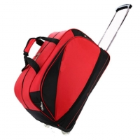 Buy cheap Leisure Red Oxford Weekend Duffle Bag With Tie Rod from wholesalers
