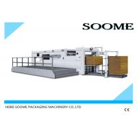 Buy cheap Corrugated Paper Flat Bed Press Die Cutting And Creasing Machine Semi Automatica from wholesalers