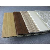China Decorative Laminated UPVC Wall Panels For Living Room / Study / Bedroom on sale