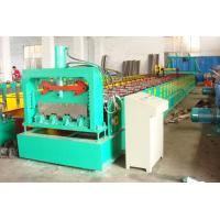 Wholesale 10-15m/min speed metal deck roll forming machine with 0.8 – 1.2mm coil thickness from china suppliers