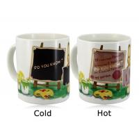 China Promotional Items Color Change Magic Coffee Cup Color Changing Magic Mug wholesale