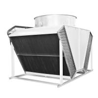 Wholesale copper tube heat exchanger radiators air flow fin fan dry cooler for HVAC industry from china suppliers