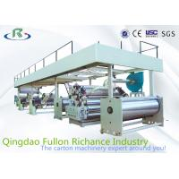 Wholesale High Quality 1200-2400 Complete Single Face Papaerboard Corrugated Carton Machine from china suppliers
