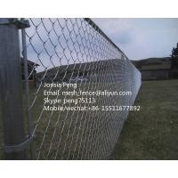 Wholesale ISO 9001 factory supply hot dipped galvanized chainlink fencing from china suppliers