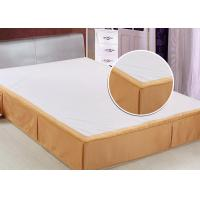 Wholesale Customized Size Hotel Bed Skirts Detachable OEM / ODM Available from china suppliers