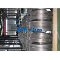 Wholesale 9.53mm TP304L / 316L Welded Super Long Coiled Stainless Steel Tubing For Medicine Industry from china suppliers
