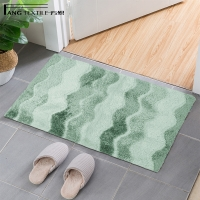 Wholesale 17X24 Inch Rectangle Striped  Anti Slip Bath Mat  Machine washable from china suppliers