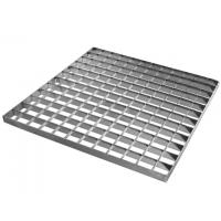 Buy cheap Construction Stair Sidewalk Heavy Duty Galvanized Builing Material Steel Grating from wholesalers