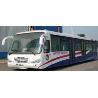 Wholesale Durable Low Carbon Alloy Steel Body Nice Airport Shuttle Bus With Thermal King AC System from china suppliers