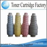 Wholesale toner cartridge compatible with konica minolta c6500 from china suppliers