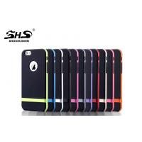 Buy cheap Black TPU+Colorful PC 2 in 1 Cell Phone Protective Cases  Anti-shock Cases from wholesalers