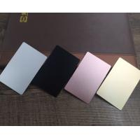 Wholesale Colored  Metal Business Cards Printing , Square Custom Aluminum Business Card from china suppliers