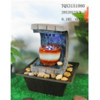 Wholesale Polyresin Water Fountain Hand Painting With Led Lights For Home Decoration from china suppliers