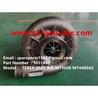 Wholesale 3651892 TURBO CHARGER CUMMINS ENGINE TEREX UNIT RIG BUCYRUS MT4400AC MT5500 MT3600 NTE240 NTE260 NHL DUMP TRUCK HAULER from china suppliers