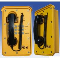 Wholesale Yellow Wall Emergency Weatherproof Telephone With Steel Keypad from china suppliers