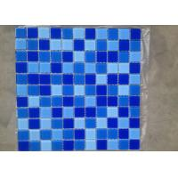 ice crackle glass mosaic tiles