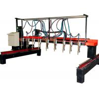 Wholesale 4000X12000 Strip Gas Cutting Machine , Step Motors 9+1 H Beam Welding Line from china suppliers