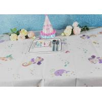 Buy cheap Printed Biodegradable Paper Tablecloth For Children Birthday Decoration from wholesalers