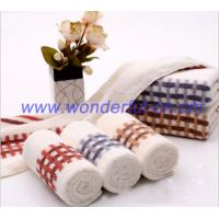 Wholesale Wholesale cheap 100 percent cotton white towel with printing for face from china suppliers