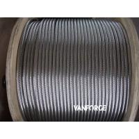 Wholesale 6x36 Flexible Stainless Steel Guy Wire , Cold Drawn Steel Wire Wear Resisitant from china suppliers