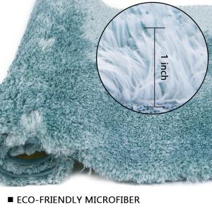 Wholesale Tufted Microfiber Flannel Runner Bath Mat Latex Backing from china suppliers