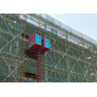 Wholesale Rack & Pinion Construction Site Hoist / Heavy Duty Construction Material Lift from china suppliers