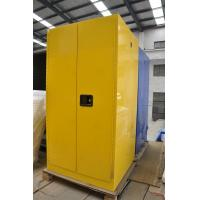 Buy cheap Three Layers Grounding Flammable Gas Storage Cabinets 60 GAL for Chemical from wholesalers