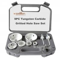 Wholesale 9PC Tungsten Carbide Gritted Hole Saw Set from china suppliers