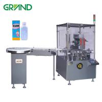 Wholesale Square Bottle Automatic Carton Packing Machine PLC Touch Screen Optional Speed from china suppliers