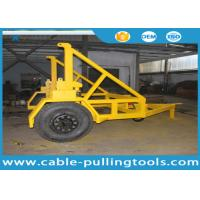 China 10T Cable Carriage Vehicle Cable Drum Trailer Cable Reel Trailer Underground Cable Tools on sale