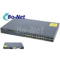 Wholesale WS C2960X 24TS L Cisco Soho Gigabit Switch , Cisco 2960x 24 Port Switch 80G from china suppliers