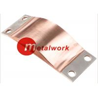 Wholesale CE Flexible Copper Shunts , Copper Foil Connector For Electrical Connection from china suppliers