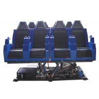 6 / 8 / 9 / 10 Seats 5D Virtual Reality Simulator Roller Coaster Type For Cinema