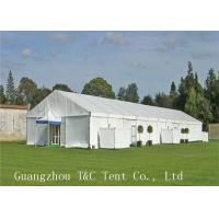 Wholesale Multifunctional Use Outside Event Tents , Self Cleaning Ability Tents For Parties from china suppliers