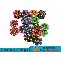 Wholesale Good Printing Non - Faded Casino Royale Poker ChipsWith Special ABS Material from china suppliers