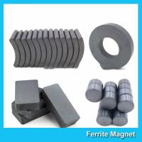 Wholesale Industrial Sintered Permanent Ceramic Ferrite Magnet Block Ring Disc Arc Shaped from china suppliers
