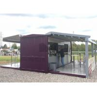 China 20ft / 40ft Shipping Container Coffee Shop , Commercial Use Container Coffee House on sale