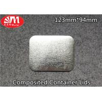 Wholesale Paper / Aluminium Foil Container Lid 60-120 Micron Thickness FDA Certificated from china suppliers