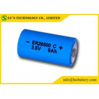 Wholesale Primary batteires ER26500 Lithium Battery C Size 3.6 V Lithium Battery 9000mAh 3.6v battery from china suppliers