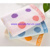 Wholesale Good quality luxury embroidered cotton custom hand towels from china suppliers