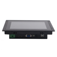 Wholesale 24V 350nits 1024x768 Industrial Panel Mount Monitor 8 Inch from china suppliers