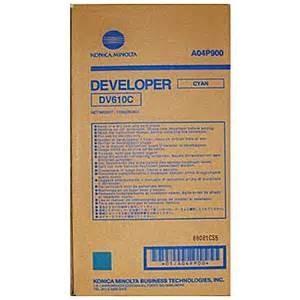 Wholesale Konica Minolta DV-610 DV610 CMYK original developer Bizhub C5500/C6500 from china suppliers