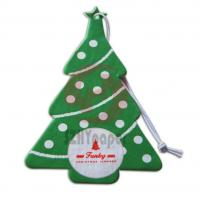 Buy cheap Over 150 Scents Christmas Cotton Auto Paper Custom Air Fresheners For Car from wholesalers