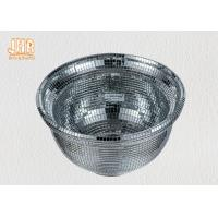 Wholesale Creative Silver Mirrored Mosaic Fiberglass Flower Bowls Indoor Decor from china suppliers