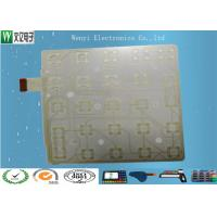 Wholesale Silver Paste Printed Membrane Circuit / 0.1mm Multi Contact Points Flexible Film Circuit from china suppliers