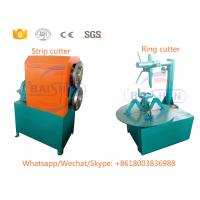 China Compact Structure Scrap Rubber Tires Recycling Machine With Semi Automatic Control System on sale